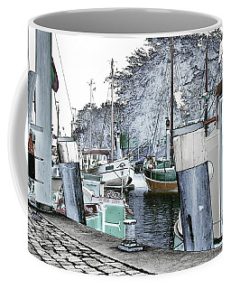 Coffee Mug featuring the photograph Art Print Boat 2 by Harry Gruenert
