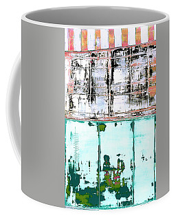 Coffee Mug featuring the painting Art Print Carneval by Harry Gruenert