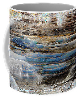 Coffee Mug featuring the photograph Art Print Cliff 1 by Harry Gruenert