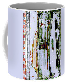 Coffee Mug featuring the painting Art Print Forest by Harry Gruenert