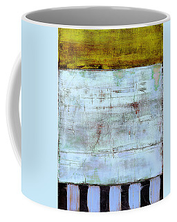 Coffee Mug featuring the painting Art Print Highwire by Harry Gruenert