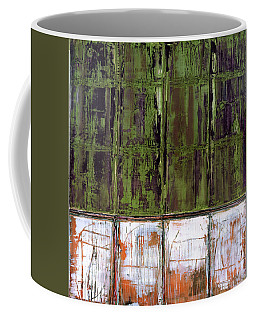 Coffee Mug featuring the painting Art Print Matchday by Harry Gruenert