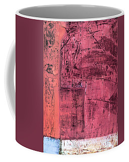 Coffee Mug featuring the painting Art Print Redwall 3 by Harry Gruenert