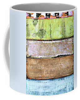 Coffee Mug featuring the painting Art Print Sierra 4 by Harry Gruenert