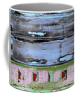 Coffee Mug featuring the painting Art Print Sierra 7 by Harry Gruenert