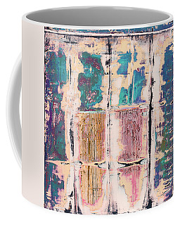 Coffee Mug featuring the painting Art Print Square 8 by Harry Gruenert