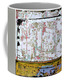Coffee Mug featuring the painting Art Print Square 9 by Harry Gruenert