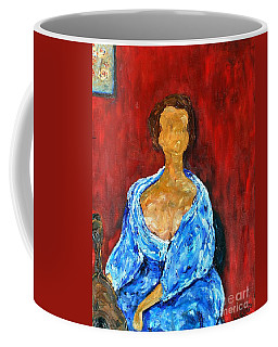 Art Study Coffee Mug by Reina Resto
