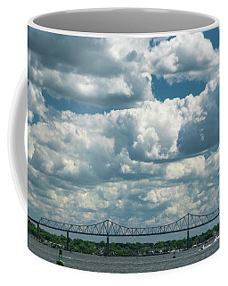 Arthur Kill And Outerbridge Crossing Coffee Mug