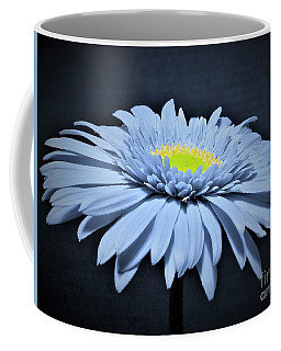Artic Blue Gerber Daisy Coffee Mug