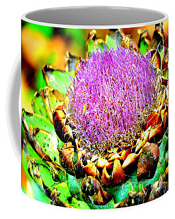 Artichoke Going To Seed  Coffee Mug