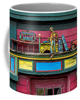 Coffee Mug featuring the photograph Artisan Door Eave Diarama by Marty Saccone