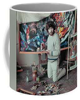 Artist In His Studio Coffee Mug