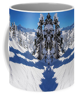 Artist Point Winter Reflection Coffee Mug