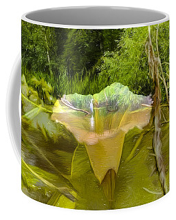 Artistic Double Coffee Mug by Leif Sohlman