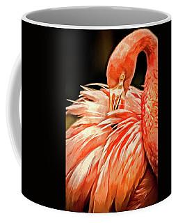 Artistic Flamingo Coffee Mug