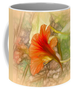 Artistic Red And Orange Coffee Mug