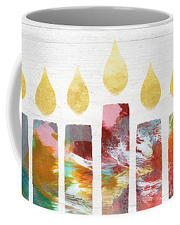 Artists Menorah- Art By Linda Woods Coffee Mug
