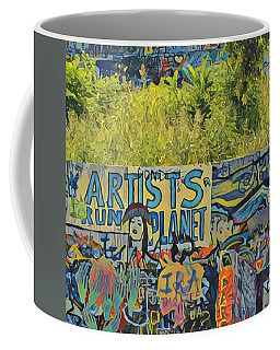 Artists Run The Planet Coffee Mug