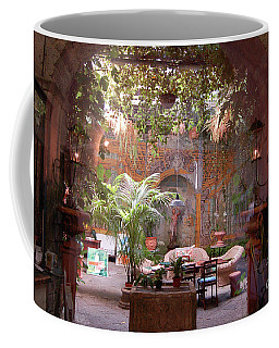 Artists' Studio In Sorrento Italy  Coffee Mug