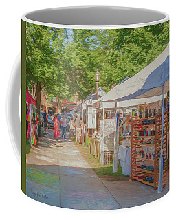 Arts On The Square Coffee Mug by Trey Foerster