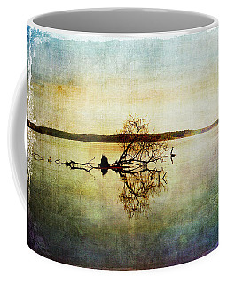 Artsy Lake Reflections Coffee Mug