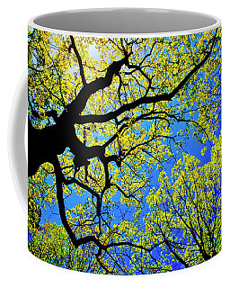 Artsy Tree Canopy Series, Early Spring - # 01 Coffee Mug
