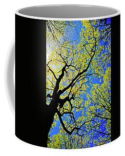 Artsy Tree Canopy Series, Early Spring - # 02 Coffee Mug
