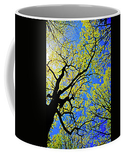 Artsy Tree Canopy Series, Early Spring - # 02 Coffee Mug