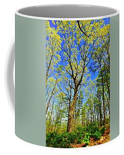 Artsy Tree Series, Early Spring - # 04 Coffee Mug