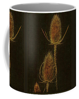 Coffee Mug featuring the photograph Thistles by Hanny Heim