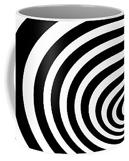 Time Tunnel Op Art Coffee Mug