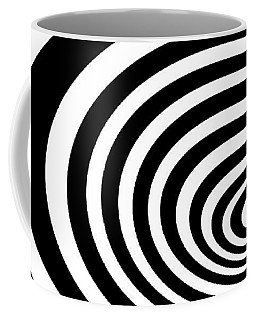 Time Tunnel Op Art Coffee Mug