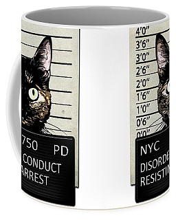 Kitty Mugshot Coffee Mug