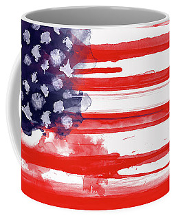 American Spatter Flag Coffee Mug