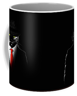 Mobster Cat Coffee Mug