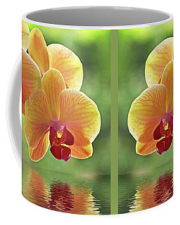 Oriental Spa - Square Coffee Mug
