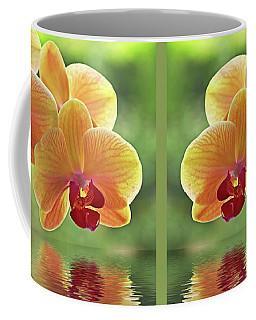 Oriental Spa - Square Coffee Mug