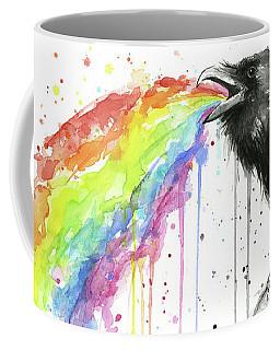 Raven Tastes The Rainbow Coffee Mug