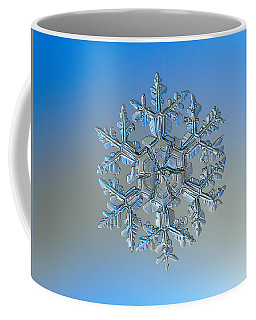 Coffee Mug featuring the photograph Snowflake Photo - Gardener's Dream by Alexey Kljatov