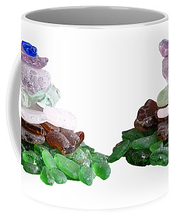 Seaglass Pyramid Coffee Mug