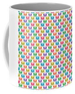 Colorful Pop Art Macarons Coffee Mug