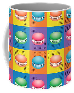 Cookie Squares Pop Art Coffee Mug