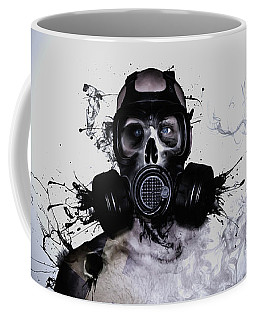 Coffee Mug featuring the photograph Zombie Warrior by Nicklas Gustafsson