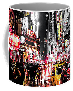 Coffee Mug featuring the photograph New York City Night II by Nicklas Gustafsson