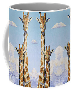 Two Heads In The Clouds Coffee Mug