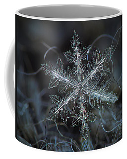 Leaves Of Ice, Panoramic Version Coffee Mug