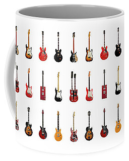 Guitar Icons No1 Coffee Mug