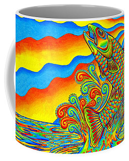 Rainbow Trout Coffee Mug