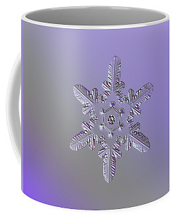 Snowflake Photo - Heart-powered Star Coffee Mug